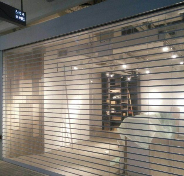 Shop Front Shutters Fitted At Trinity Shopping Centre