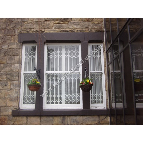 High Security Retractable Grille