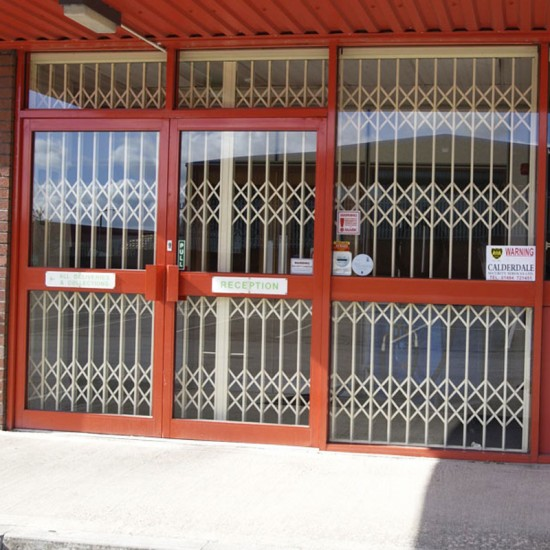 Insurance Approved - Level 1 Security Grille