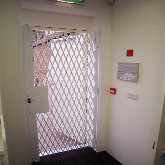 Fire Exit Folding Grille