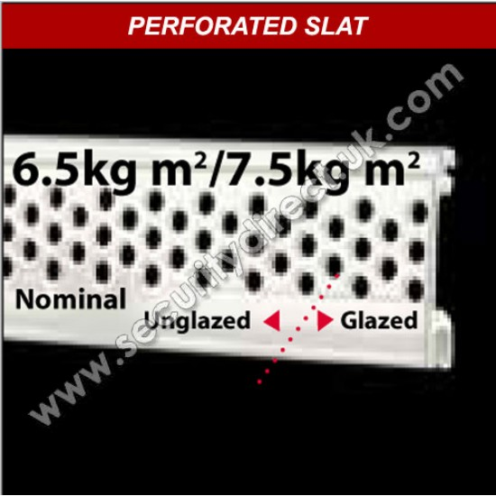 Compact Perforated - 18% Vision