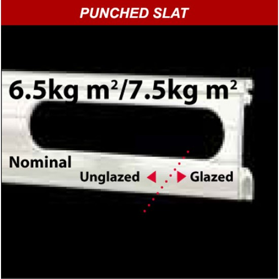 40mm Punched Aluminium
