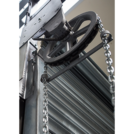 Manual Chain Operated Roller Shutter Doors