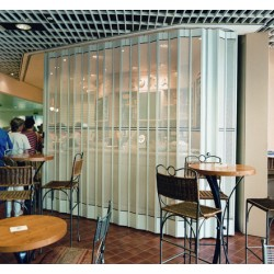 Perforated Internal Sliding Security Shutters - 30% Vision