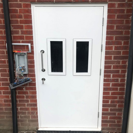 Communal Steel Doors