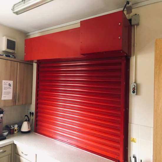 Industrial Fire Shutters with Fusible Link