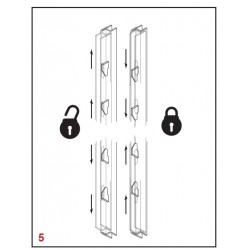 Reinforced 3 or 4 Point Locking