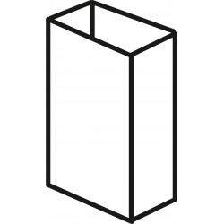 Aluminium 20mm x 50mm - White
