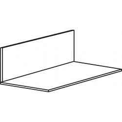 Aluminium 75mm x 25mm - White