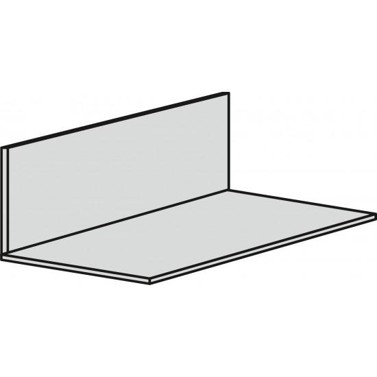 Steel 75mm x 50mm x3mm - Galvanised