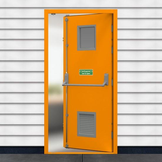 Medium Security Fire Exit Door