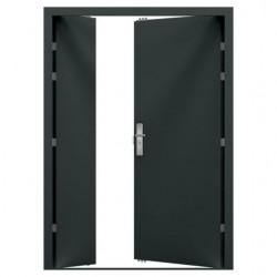 Double High Security Steel Door