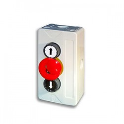 3 Push Button Station (Latching Stop)
