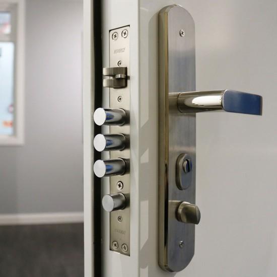 Louvred Entry Door - Heavy Duty