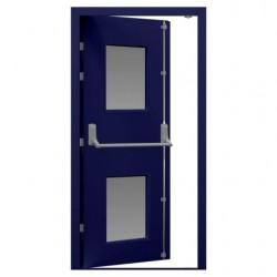 Glazed Fire Exit Door