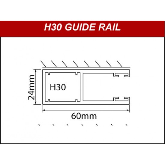 H30 Guide Rails
