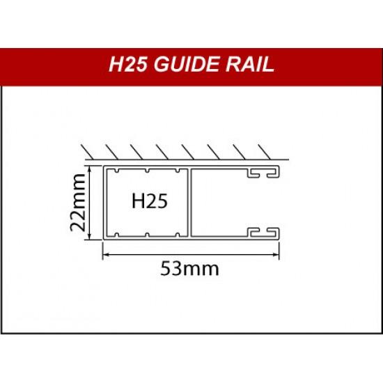H25 Guide Rails