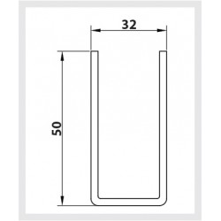 50mm Standard Steel Guide