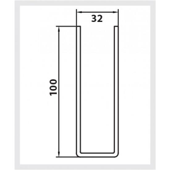 100mm Standard Steel Guide