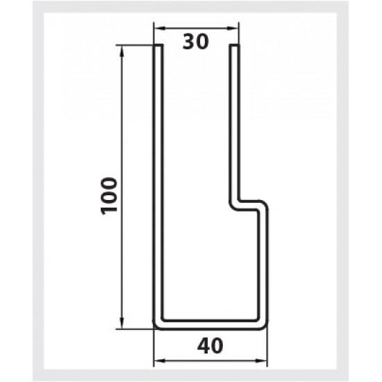 100mm Windlock Steel Guide