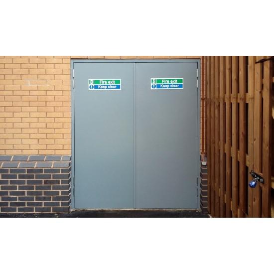Fast Track Steel Doors