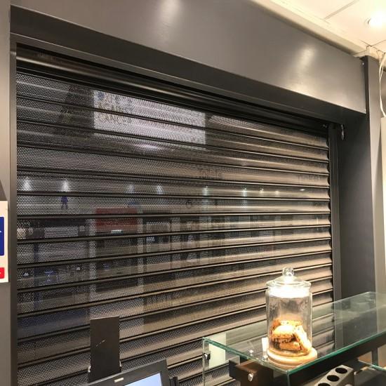 Steel Bar Servery Shutters