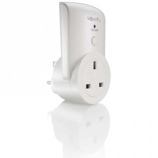 Somfy Electric Socket for Remote Control Lights