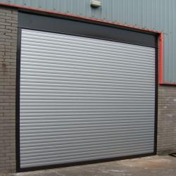Manual Insulated Industrial Door