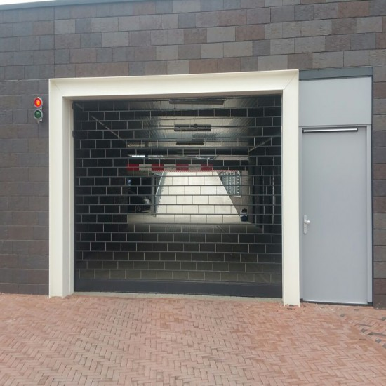 Car Park Stack Door - 80% Airflow - Secured By Design