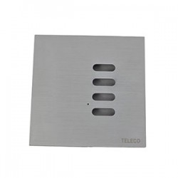 Smooth Wireless Wall Switch - Stainless Steel