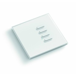 Smooth Wireless Wall Switch - White