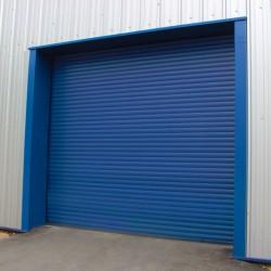 77mm Insulated Steel Industrial Door
