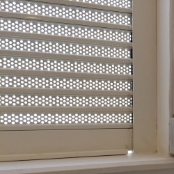 40mm Perforated Aluminium Laths