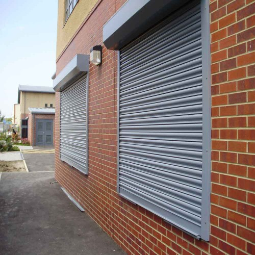 Solid Retail Shutters