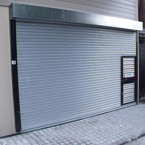 Non Insulated Roller Shutters