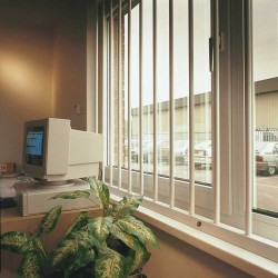 Removable Security Window Bars
