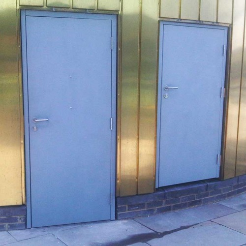 LPCB Security Rated Steel Doors
