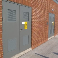 Security Rated Steel Doors
