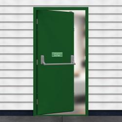 Budget Fire Exit Door