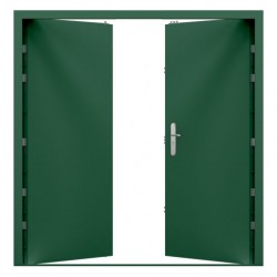 Double High Security Steel Door