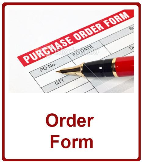 Roller Shutters Order Form