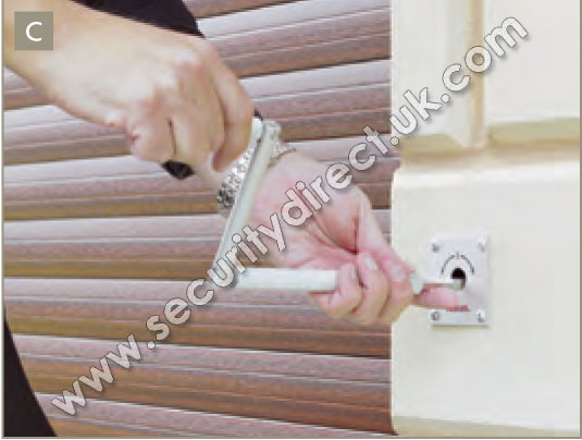 Low Level Manual Override Shutter Override Security Direct