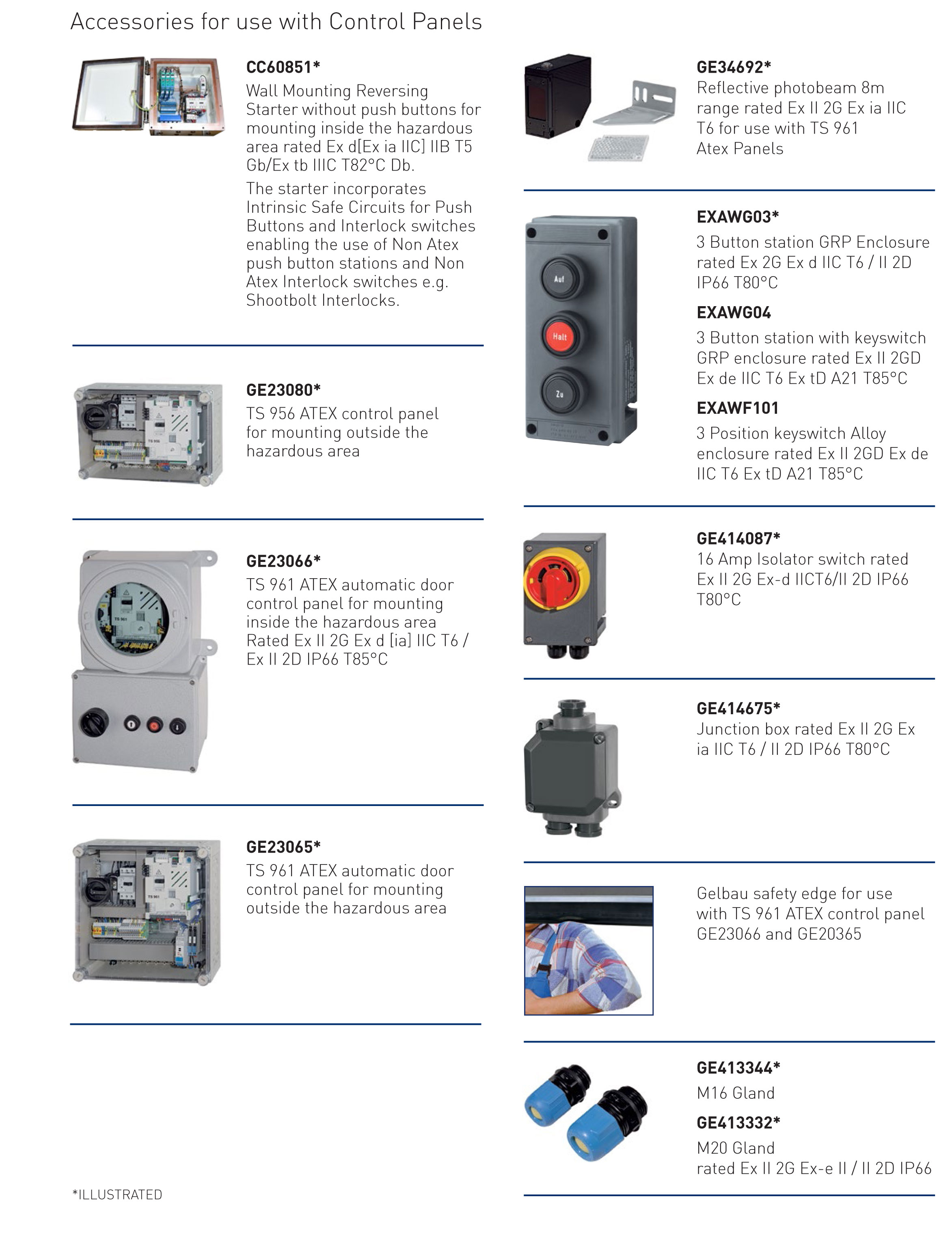 Atex Shutter Motors Security Direct Panel Mounted Push On Hazard Switch Horizontal Or Vertical Mounting Hollow Shaft Worm Drive Gear Box With Limit Switches Controls Available For Normal And Auto Operation