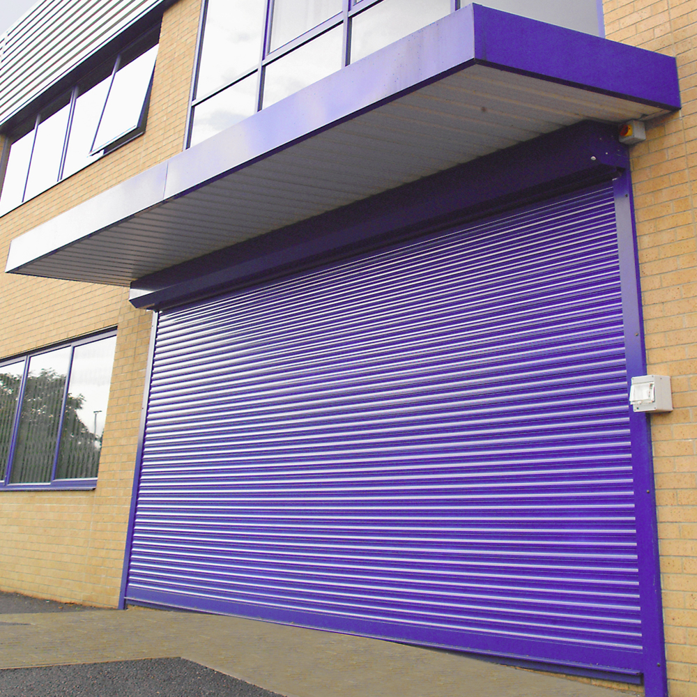Solid Commercial Shutters