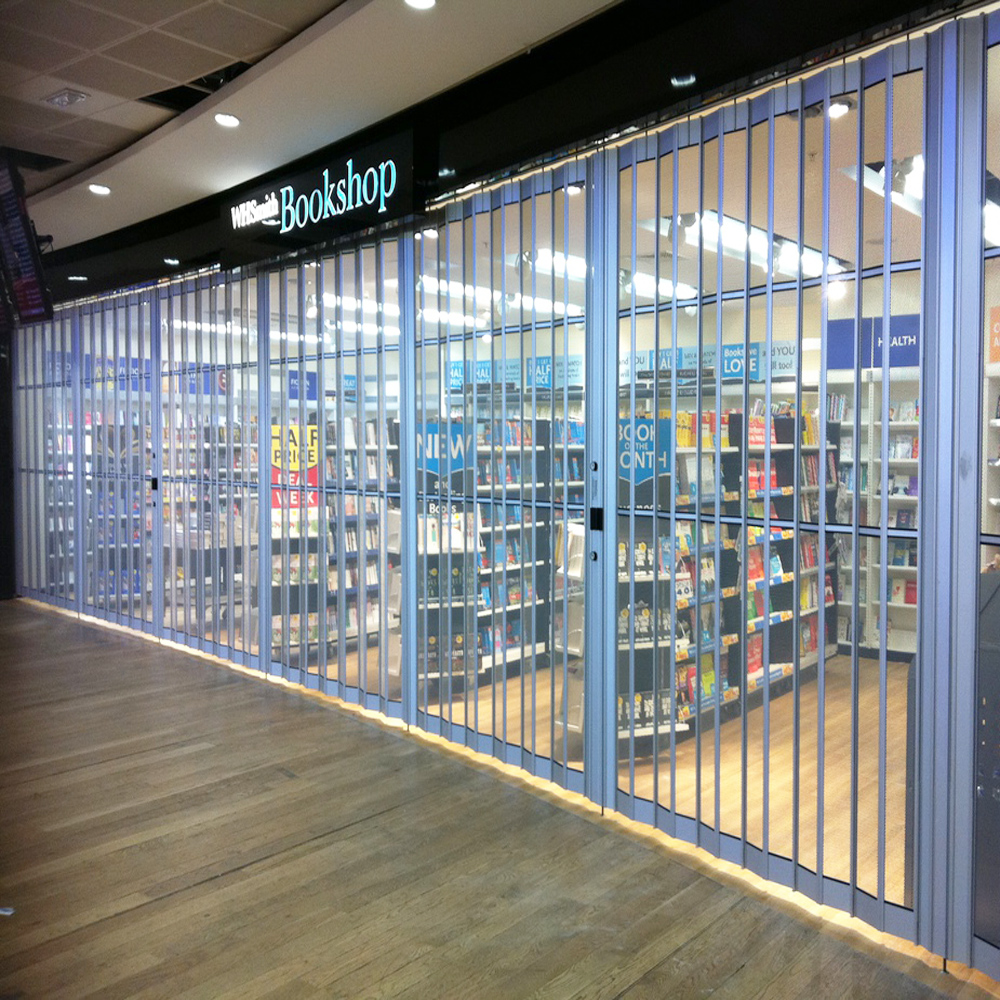 Folding Sliding Door Company Leeds: Polycarbonate Sliding Shutter